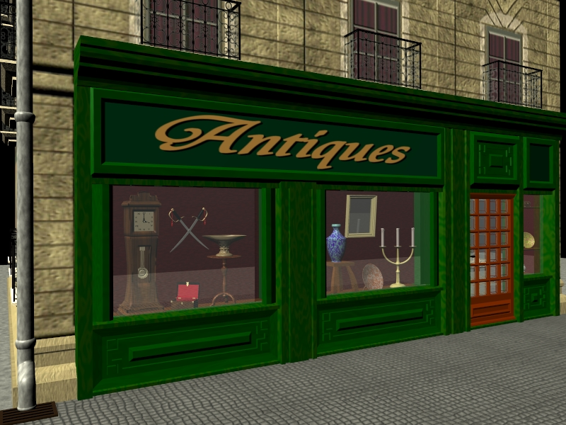 Antique shop for Building a shop house