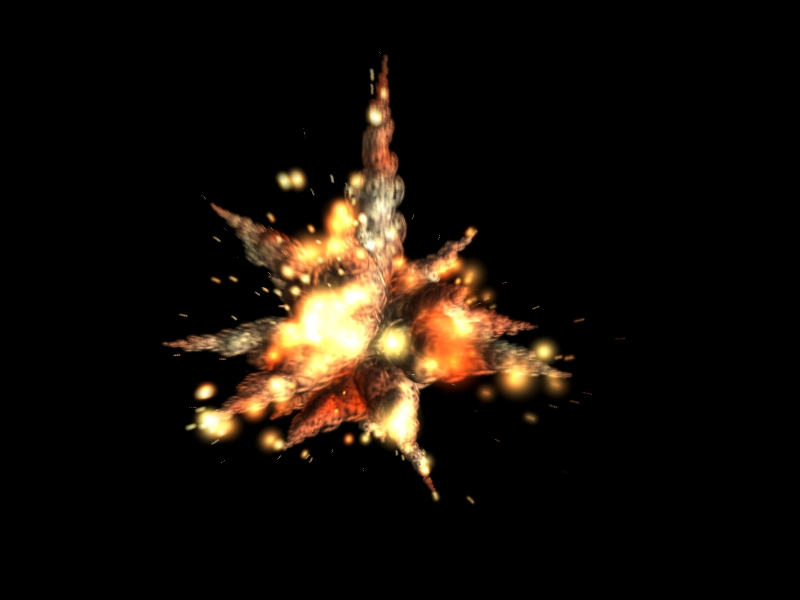 Explosion Render - YouTube