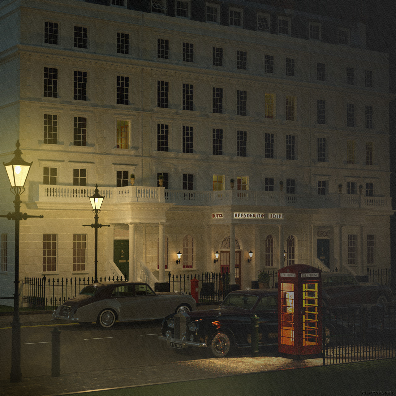 Blenderton Hotel - London