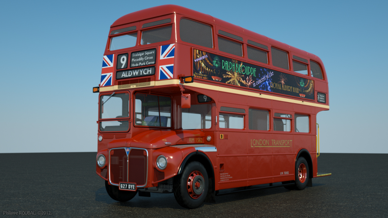 AEC-Routemaster Double Decker Bus.